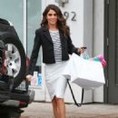 Nikki Reed Street Style Out and About In La