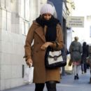Leona Lewis Bundles Up in London
