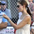 Ashley Judd - Firestone Indy 300 Homestead Miami Speedway - Oct 9 2009