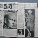 Yul Brynner - Cinemonde Magazine Pictorial [France] (5 December 1961)