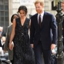 Prince Harry Windsor and Meghan Markle : 25th Anniversary Memorial Service - 399 x 600