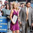 Kelly Ripa - Arrives At David Letterman Show - August 5 '08
