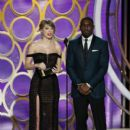 Taylor Swift and Idris Elba : 76th Annual Golden Globe Awards - Show - 400 x 600