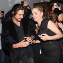 Cougar alert! Sharon Stone leaves Vogue party with Argentinian model Martin Mica in Brazil - 454 x 548
