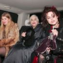 December 11st 2010 - Actress Helena Bonham Carter, her mother Elena and her niece actress Rose Bonham Carter pictured leaving the Ivy restaurant after dining with their families