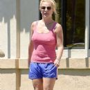 Britney Spears Out and About In Westlake Village