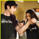 Lindsey Shaw and Ethan Peck
