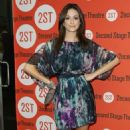 """Emmy Rossum Checks Out """"Trust"""" Opening Night"""