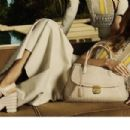 Daria Werbowy for Salvatore Ferragamo Spring/Summer 2015 Ad Campaign