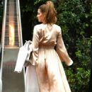 Maria Menounos – Arrives at Khloe Kardashian's Baby Shower in LA - 454 x 681
