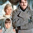 Omar Sharif, Julie Christie and Lucy Westmore in Doctor Zhivago (1966)