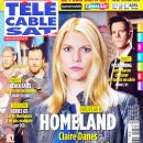 Claire Danes - Télé Cable Satellite Magazine Cover [France] (25 January 2014)