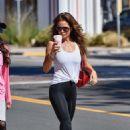Brooke Burke in Black Leggings – Out in Malibu - 454 x 681