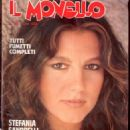 Stefania Sandrelli - Il Monello Magazine Cover [Italy] (20 October 1978)