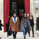 Keira Knightley and James Righton at the L' Reserve hotel in Paris - 454 x 491