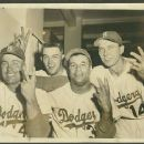 1955 Brooklyn Dodgers Winning The World Series