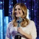 Actress Sasha Alexander holds The Actor statuette during rehearsals for the 20th Annual Screen Actors Guild (SAG) awards on January 17, 2014 in Los Angeles, California