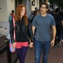 Chloe Dykstra and Cameron Cuffe – Outside Comic-Con in San Diego