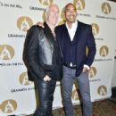 Dee Snider and Harvey Mason Jr. arrive at the GRAMMYs on The Hill Dinner at The Hamilton on April 13, 2016 in Washington, DC