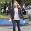 Jennifer Morrison on the set of 'Once Upon A Time' in Vancouver - 454 x 611