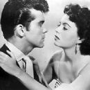 Faith Domergue and Lee Patterson
