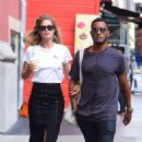Doutzen Kroes and husband Sunnery James – out in SoHo - 454 x 476