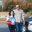 Ariel Winter and Luke Benward grab food at Patys Restaurant in LA