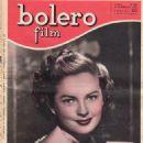Coleen Gray - Bolero Film Magazine Cover [Italy] (4 February 1951)