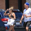 Ashley Benson – Leaves lunch at Joan's on Third in Studio City - 454 x 681