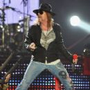 Singer Axl Rose of 'Guns N' Roses' performs at The Forum on December 21, 2011 in Inglewood, California