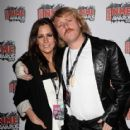 Leigh Francis and Jill Carter - 417 x 594