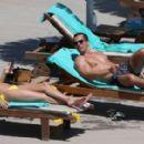 Rhian Sugden in Yellow Bikini in Ibiza - 454 x 281