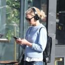 Jennifer Morrison out in Manhattan - 454 x 581