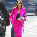 Cindy Crawford – Arriving at While We Are Young Kitchen and Cocktails in NY