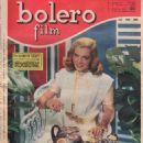 Lizabeth Scott - Bolero Film Magazine Cover [Italy] (6 April 1952)
