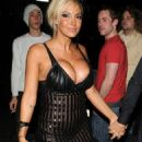 Jodie Marsh - Arriving To 50 Dover St. London 2008-04-23
