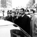 Annette Bening, Denzel Washington and Tony Shalhoub in The Siege - 11/98