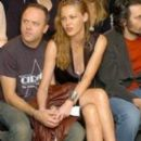 Connie Nielsen and Lars Ulrich