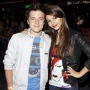 Victoria Justice and Josh Hutcherson