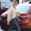Hailey Bieber – Out for breakfast in Beverly Hills