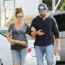Denise Richards and Aaron Phypers – Out in Calabasas - 454 x 681
