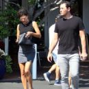 Jessica Szohr out in West Hollywood - 454 x 556