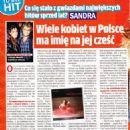 Sandra - Rewia Magazine Pictorial [Poland] (10 April 2019) - 454 x 642