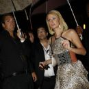 Paris Hilton Arriving Back At The Skt. Petri Hotel After An Appearance At The MILK Boutique In Copenhagen, 2008-08-07