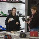 Angelina Jolie shoping at Saint Laurent   (March 05, 2015)