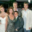 Eva Amurri, Susan Sarandon, Tim Robbins and sons attend - World premiere of 'War Of The Worlds' at the Ziegfeld Theatre on June 23, 2005