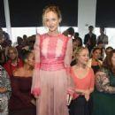 Heather Graham – Tadashi Shoji Fashion Show in NYC