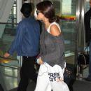 Selena Gomez leaving Toronto today. (September 9)