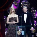 Holliday Grainger on Red Carpet at BAFTA Awards in London, UK 2/12/ 2017 - 454 x 712