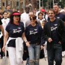 Dannii Minogue Leads Walkers On A 10KM Trip In London 2008-06-01